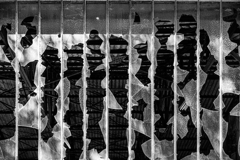 Digital composite image of people