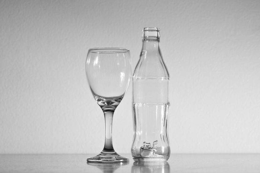 Clear Sky Grass Wine Glass Dring Drinking Glass