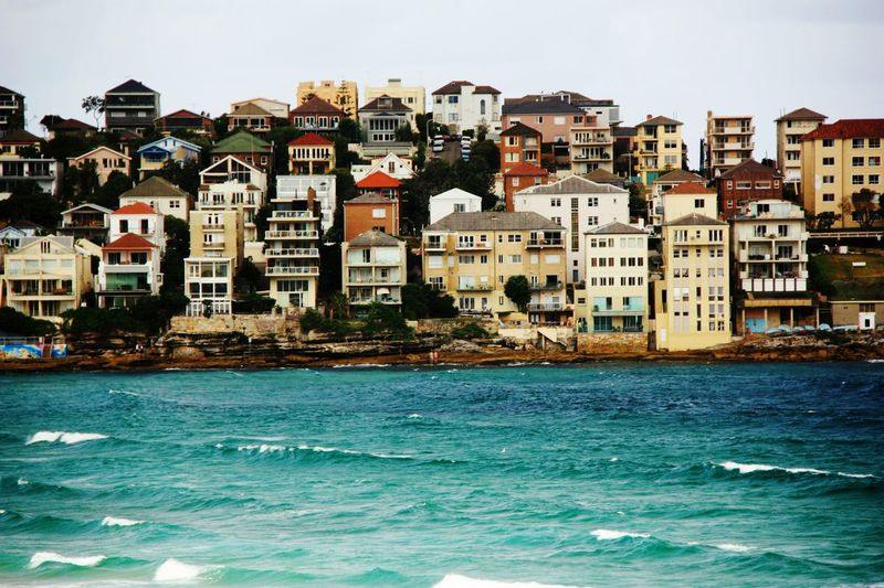 Sydney Bondi Beach Beachfront Sea View By The Sea Architecture Colourful Life Colourful Seaside Living Bondi Bondiscape Bondibeach Room With A View Roomwithaview Homes By The Sea