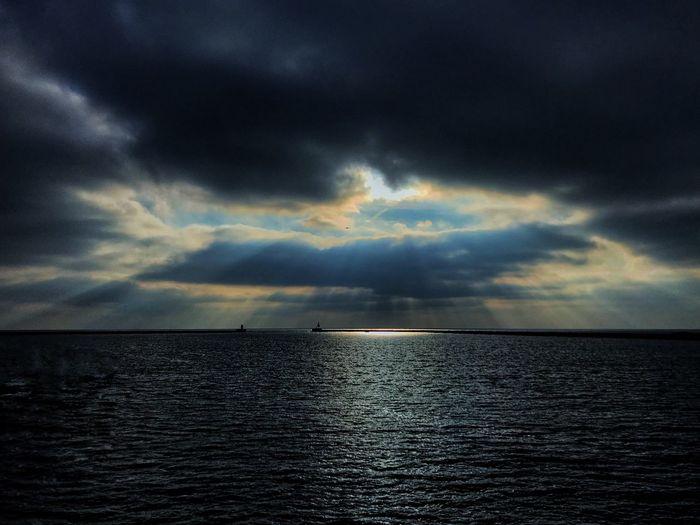 Sea Sky Water Cloud - Sky Horizon Horizon Over Water Scenics - Nature