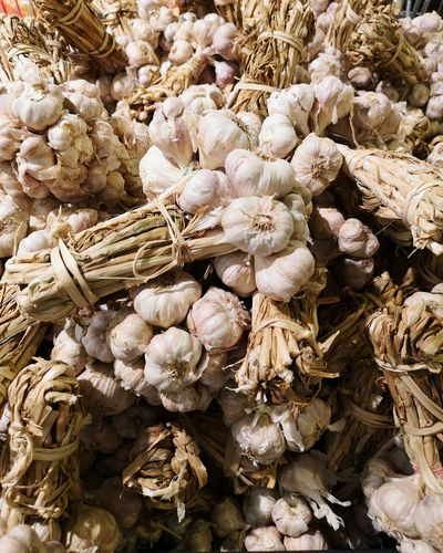 Full frame shot of dried flowers for sale