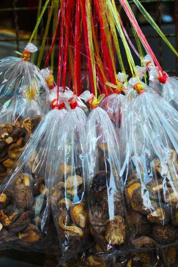 Mushroom Shiitake Mushrooms Shiitake Shiitake Packed Bag ใน Thailand