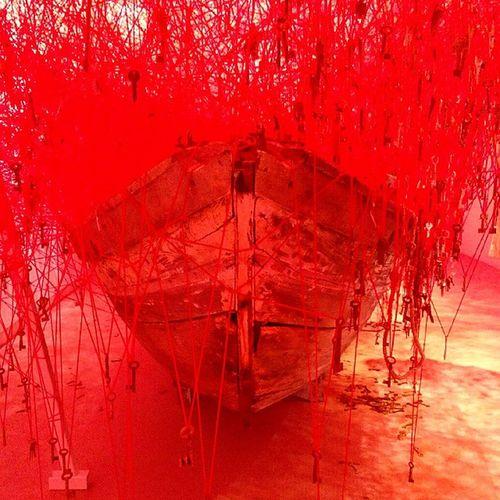 Venice Venicebiennale Venicebiennale2015 Art Contemporary Art Japan Pavilion Keys Red alltheworldsfutures