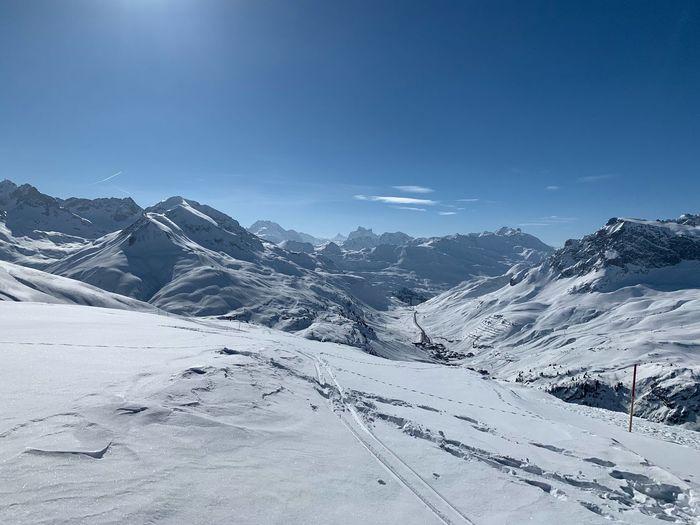 Snow Winter Cold Temperature Scenics - Nature Environment Sky Mountain