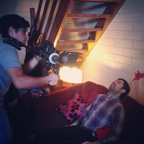 Grabando escena dark 🔪🔫 Ciné Cineasta CAD Corto CortoMetraje Molina Molinacity Talca Talcacity Tagsforlike Like4like Likeforlike Chilegram Instachile Instaphoto Instatalca Instamolina Sangre Asesinato Muerte