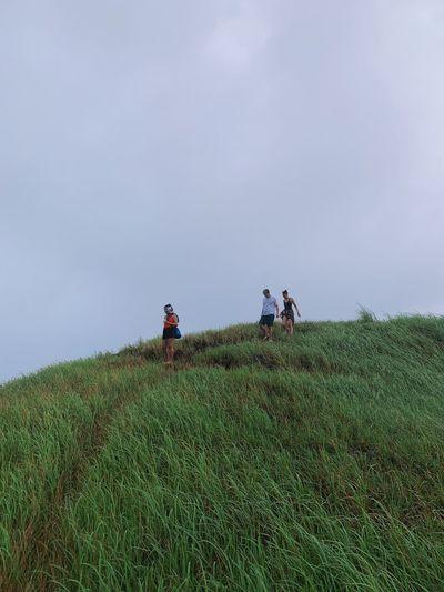 Trekking amidst