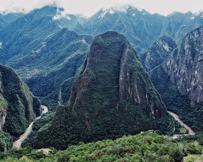 view from Machu
