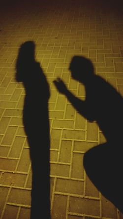 Love Propose Shadows Night Photography Creative Light And Shadow