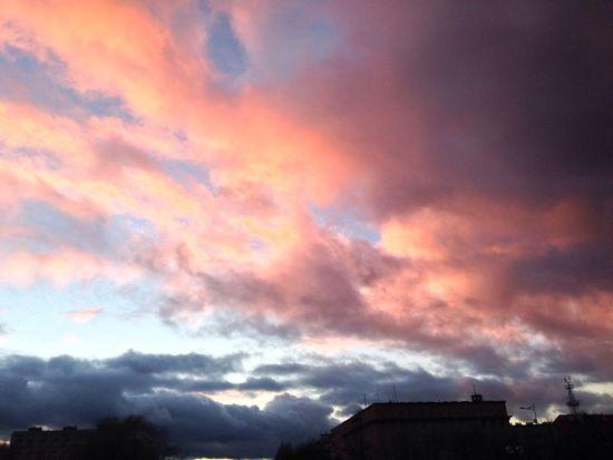 Endoftheday Sunset Wintersun Sun Clouds Cloudporn Gdynia Poland