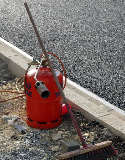 Tools Gas Burner Asphalt