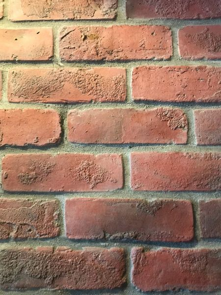 Close-up red brick wall Brick Wall Brick Parre Pattern Backgrounds Red No People Textured  Day Building Exterior Brown Close-up Repetition Design