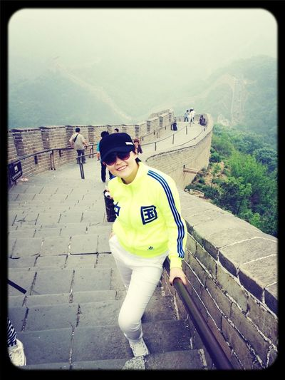 Great Wall In Beijing, China To Play Nice