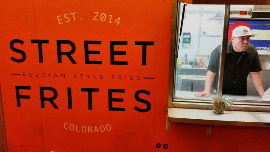 Street Food Frites Frenchfries Eating Food