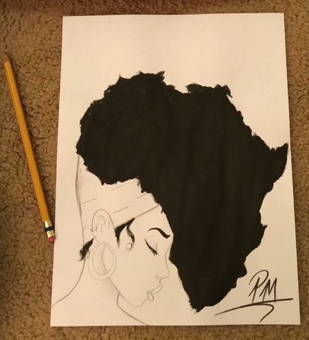 WHAT COLOR SHOULD I PAINT HER HEAD WRAP..?