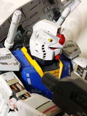 Investing In Quality Of Life Indoors  Technology Close-up Machinery Gundam Plamodel
