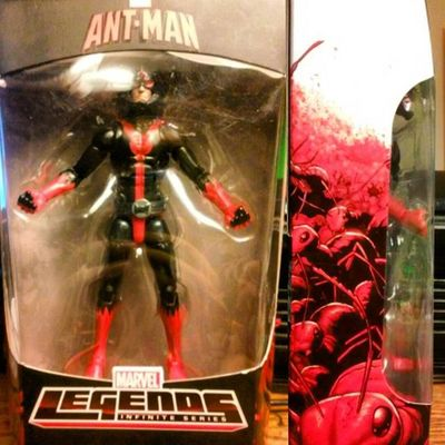 I just home its been long great day!! and i was debating to get this guy or not but in all honestly im happy i got em! 👍😄 Antman Marvellegends Toycommunity Toycollector Toyphotogallery Geek Collector Figurecollector Hasbro