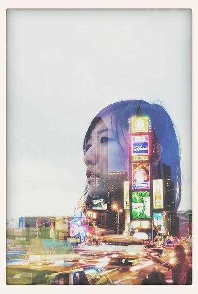 Girl Taking Photos Enjoying Life