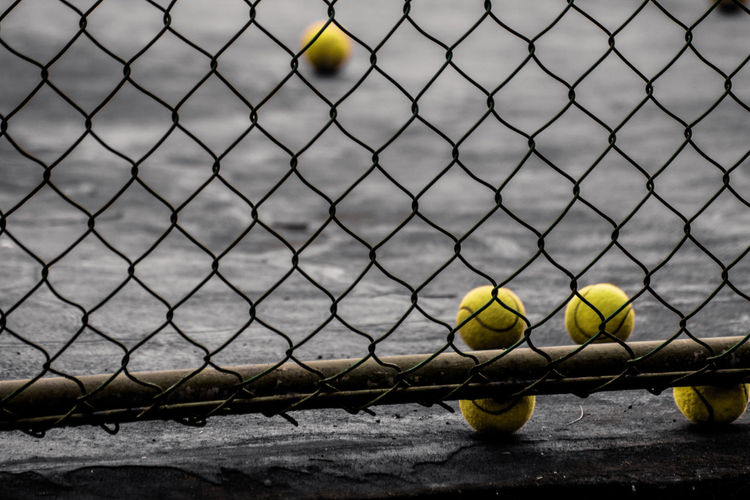 The ball baseball on the outskirts of hedge a field Photography Streetphotography Ball Water Baseball - Sport Sport City Chainlink Fence Sky Close-up Tennis Tennis Ball Net - Sports Equipment Court Fence Yard Line - Sport Serving - Sport