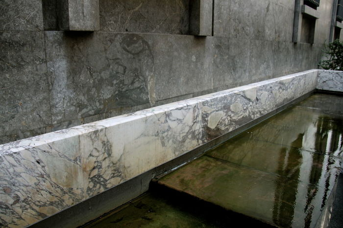 Architectural Detail Architecture Architecture_collection Carrara-marmor Fountain Marble Marbledstone No People Rationalism Razionalismo Stone Material Water