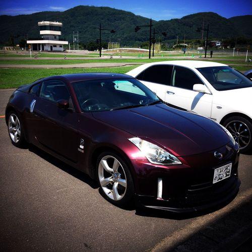 免許センター駐車場にて。 Nissan FairladyZ Z33