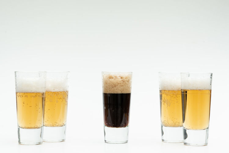 Diversity Refreshment Studio Shot Food And Drink Glass Drink Drinking Glass White Background Still Life Household Equipment Indoors  Frothy Drink Freshness Alcohol No People Beer Glass Beer Glass - Material Beer - Alcohol Close-up Transparent