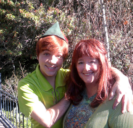 Just a couple of redheads hanging out at Disneyland. Myself and Peter Pan. :) Casual Clothing Cute Day Disneyland Enjoyment Front View Fun Green Color Happiness Happy Headshot Leisure Activity Lifestyles Long Hair Outdoors Person Peter Pan Portrait Red Hot Chili Peppers Smiling Toothy Smile