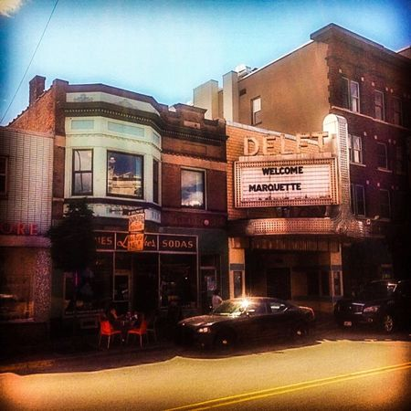 Marquette Michigan Upper Peninsula Movie Theater Main Street Small Town Buildings Buildings And Sky The Architect - 2016 EyeEm Awards