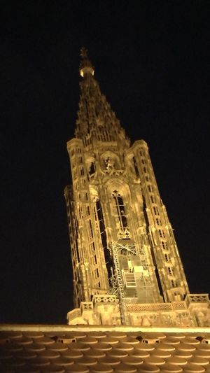 Cathedrale Strasbourg Nuit