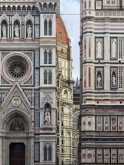 Low angle view of santa maria del fiore