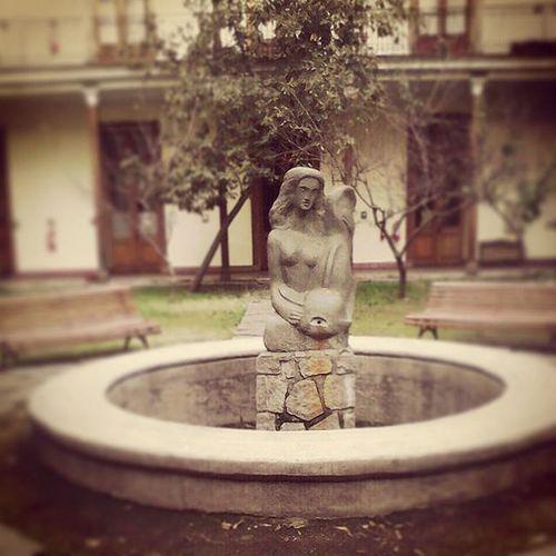 En el museo de la educación GabrielaMistral Chacabuco365 Santiago , recorriendo Santiagoapie