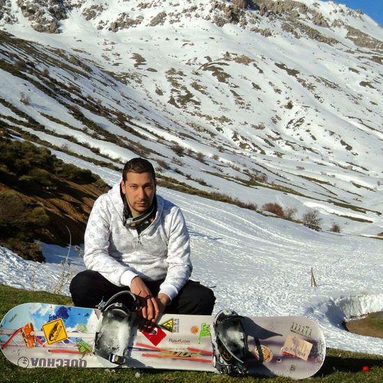 Goprouniverse Snowboarding Somewhere In Algeria