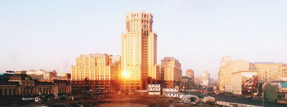 Sunrise From My Window Showcase March Beauty In Ordinary Things Urban Landscape City Life Architecture Urbanphotography Urbanexploration City Cityscape Building Exterior Building Here Belongs To Me