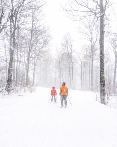 Snow Sports Cold Temperature Snow Winter Weather White Color Blizzard Vermont Strattonmountain  Snowing Skiing