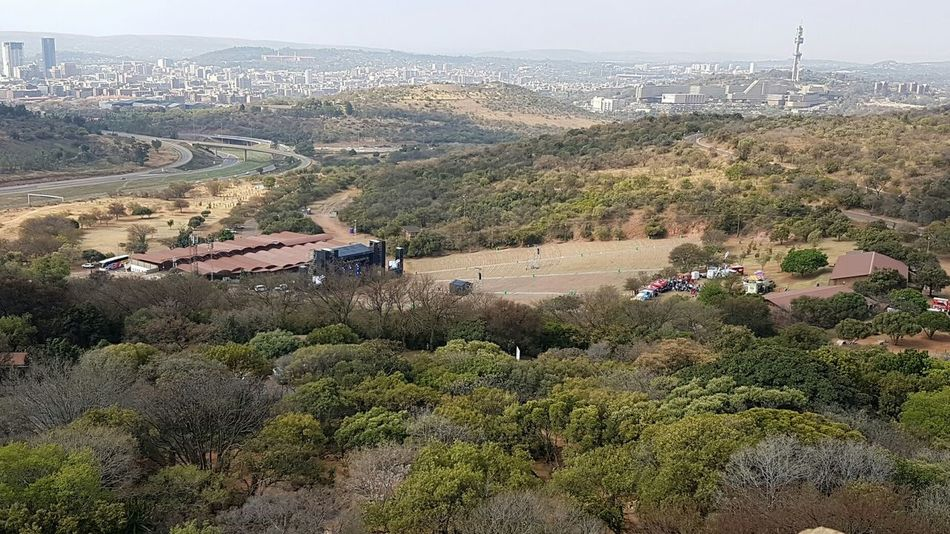 Tree Cityscape City Landscape Built Structure Architecture High Angle View Growth Town Building Exterior Scenics Day Plant Residential District Nature Tranquil Scene Tranquility Distant Aerial View Outdoors Amphitheatre Voortrekker Monument Heritage Site Looking Down! Pretoria Tshwane From Where I Stand