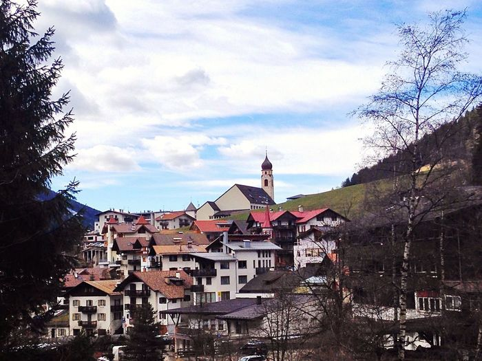 TOWNSCAPE Nova Levante Welschnofen Südtirol Italy Landscape Village Town Church South Tyrol Nature