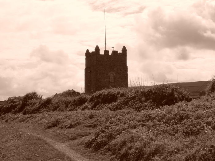 Architecture Building Exterior Built Structure Cornwall Uk Day Fort History Medieval Nature No People Outdoors Sky Tree