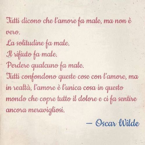 ♡ Frasi Citazioni Oscar Wilde Amore