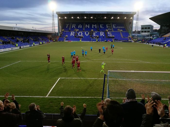 The City boys at Tranmere Rovers! Chelmsford City Fc Fa Trophy