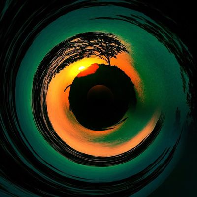 Avaré Sp Art And Craft Art Geometric Shape Circle Shape No People Close-up Indoors  Full Frame Directly Above Design Still Life Abstract Backgrounds Glass Hole Pattern Night Directly Below Orange Color Glowing Nature