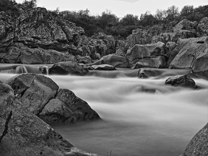 alcantara Acqua Limpida Bianco E Nero Day Fiume Geology Lunga Esposizione Nature Outdoors Physical Geography Rock Rock Formation Sicilia Stone