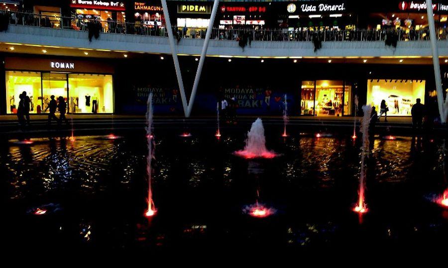 #41 #departmen Store #Night #people #shopping  #TURKEY/Kocaeli #water