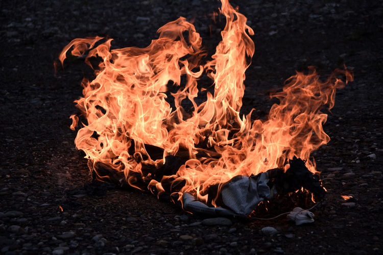 Burning Close-up Fire Fire - Natural Phenomenon Flame Glowing Heat Heat - Temperature No People The Magic Mission