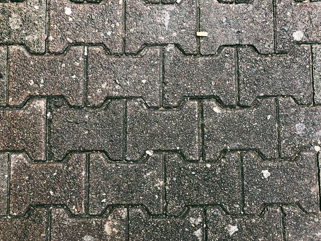 Street Full Frame Backgrounds Pattern Stone Tile Textured  No People Outdoors