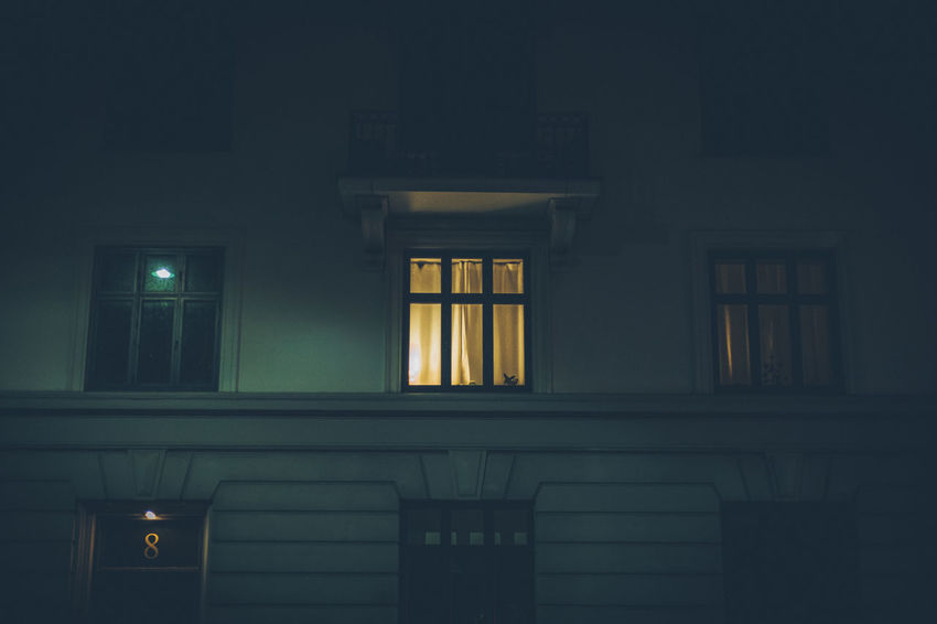 Architecture Building Exterior Built Structure Illuminated Night No People Outdoors Window