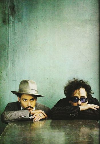If you love Johnny Depp and Tim Burton we could be friends 😃 Tim Burton Johnny Depp