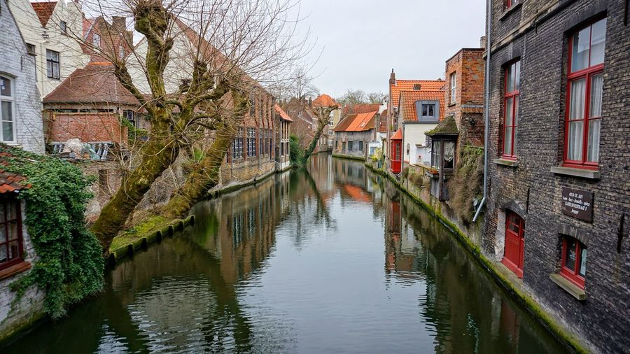 Art Is Everywhere Cloud - Sky Water Old Architecture Architecture Old Brügge Belgium Canalstreet Seas Spring Kanal in Brügge, Belgien