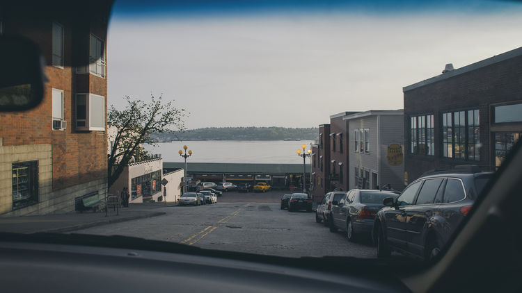 Exploring downtown Seattle by car, facing Elliott Bay amd the fishermen's market. Car Transportation Sky City Day Outdoors Seattle, Washington Seattle Elliott Bay Washington State Sea USA Roadtrip Windshield Windshieldview EyeEmNewHere Exploretocreate Downtown Ontheroad Ontheroadagain Passenger's Seat Canon Canonphotography Canon6d 24mm