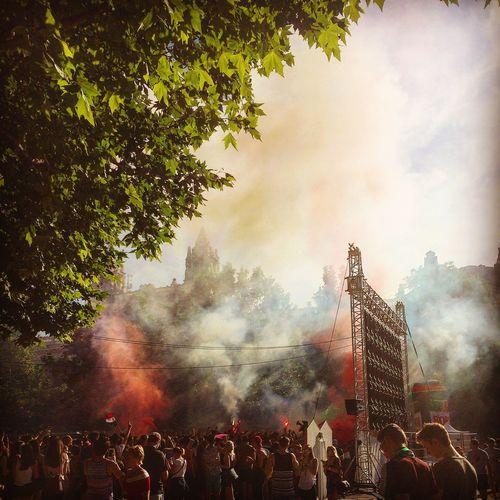 Football Fans UEFA EURO 2016 Hungary Vs Iceland Budapest Giantscreen Football The Mix Up