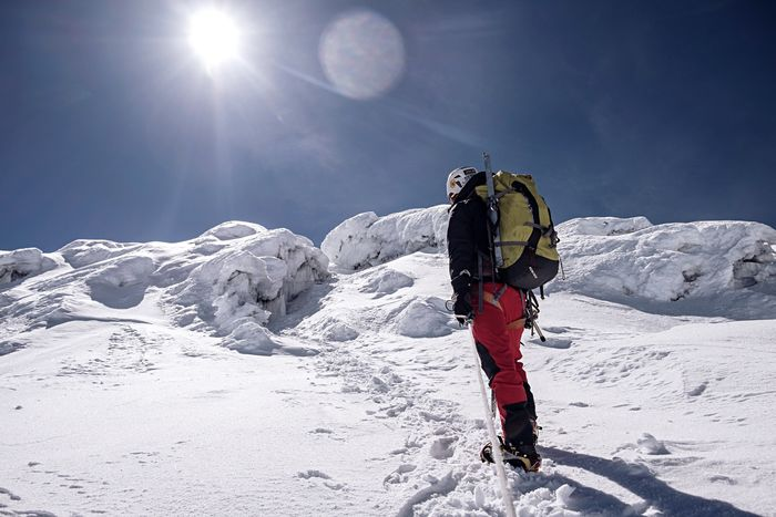 Approaching the high summit on Chimborazo. Ecuador Chimborazo Volcan Chimborazo Volcano Mountaineering Open Edit Ecuador-pgw