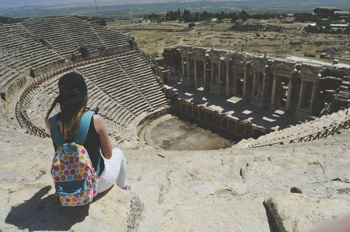 Hierapolis Pamukkale Antik Tiyatro
